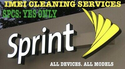 Cleaning Service Sprint USA iPHONE & GENERIC Unbarr Fix UNPAID BILLS SPCS: YES!