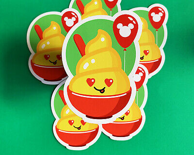 The Adorable Dole Whip Magnet - Disney World and Disneyland's Simply Sweet Treat