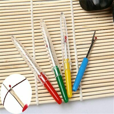 4 x Plastic Handle Craft Thread Cutter Seam Ripper Stitch Unpicker Sewing Tool