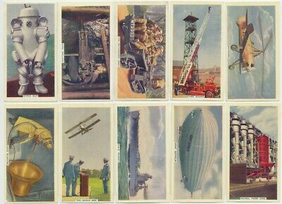 PHILLIPS - 1936 : This Mechanized Age 1st Series Complete Set (50) Cig. Cards