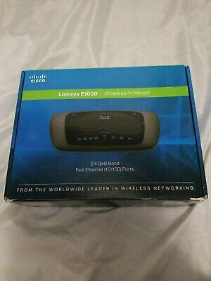 LINKSYS E1000 V2 300 Mbps 4-Port 10/100 Wireless N Router