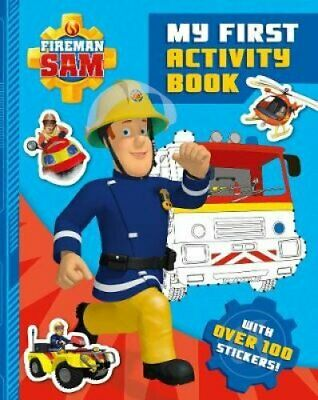 Fireman Sam: My First Activity Book 9781405285667 | Brand New | Free UK Shipping