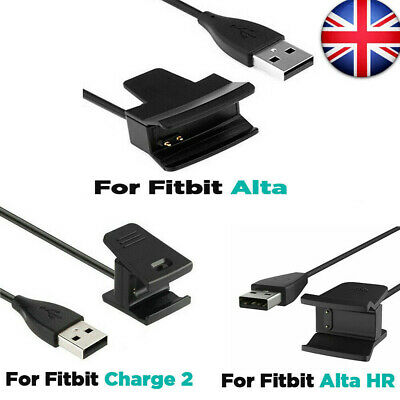 USB Charger Charging Cable Lead for Fitbit Alta HR Charge 2 Wristband Activity
