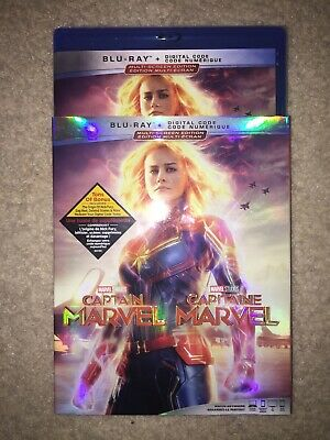 Captain Marvel [Blu-ray + With Digital Code Canada iTunes ] (Bilingual)