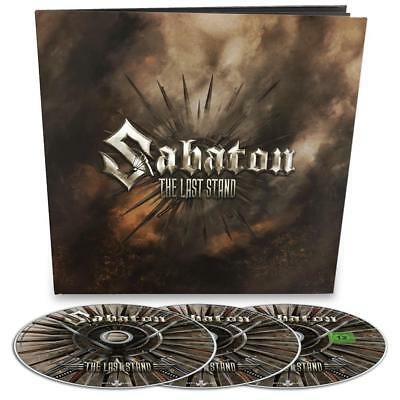 Sabaton - The Last Stand Ltd. CD+Live DVD / CD Earbook incl. 36-page Booklet NEU