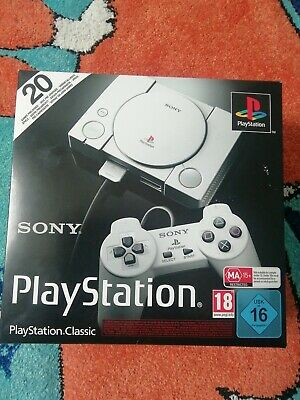 Sony PS1 Playstation Classic Konsole inkl. 20 Spiele + 2 Controller