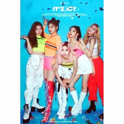 ITZY: ICY* COMEBACK Full Package+Poster Pre-Order (CD, JYP ) K-POP