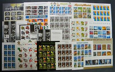 drbobstamps US MNH Self Adhesive Sheets & Souvenir Sheets Postage Lot Face $496