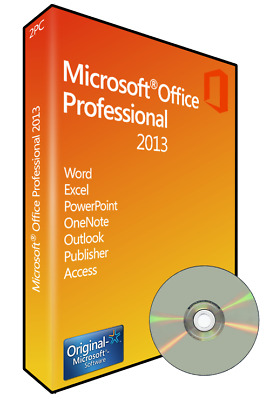 Microsoft Office 2013 Professional Plus Aktivierungskey DVD 32Bit x86 Deutsch