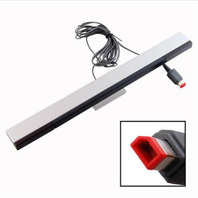 Wired Infrared IR Signal Ray Sensor Bar/Receiver for Wii or Wii U Remote UK