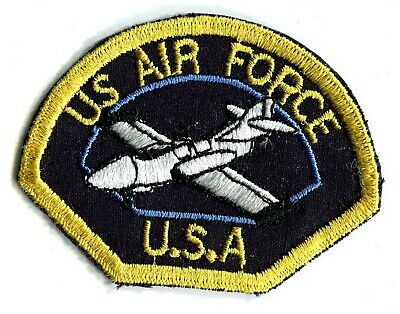 ARMEE USA US AIR FORCE aviation avion mirage blanc écusson / patch 8 x 6 cm