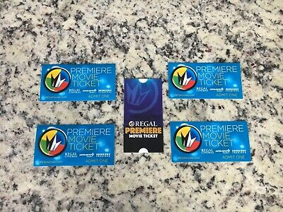 Regal cinemas premiere movie tickets