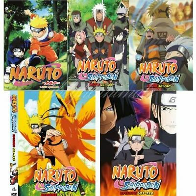 NARUTO SHIPPUDEN BOX Set 9 [New DVD] Dubbed, Subtitled
