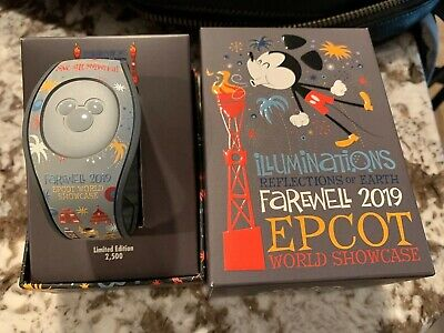 Epcot Illuminations Reflections of Earth Farewell 2019 Limited Edition Magicband