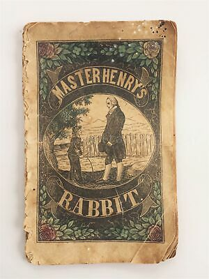 c1850 antique MASTER HENRY'S RABBIT; THE BEES; and THE FAITHFUL DOG milner toys