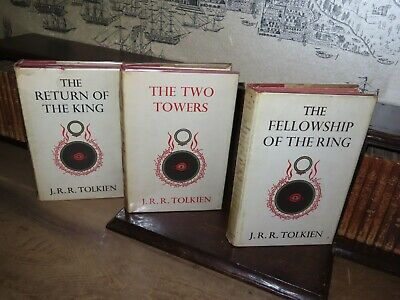 1965 LORD OF THE RINGS by JRR TOLKIEN - 1st EDITION 11th IMPRESSION HOBBIT BILBO
