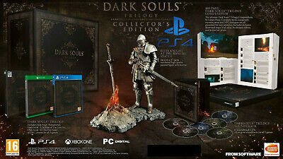 NEW Dark Souls Trilogy Collector's Edition PS4 + Elite Knight Statue (EU IMPORT)