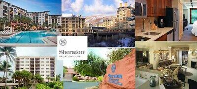 Sheraton Flex Vacation Points,  95,700 Flex Points, Annual Timeshare