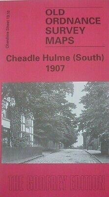 OLD Ordnance Survey Maps Cheadle Hulme  South Cheshire 1907  Godfrey Edition