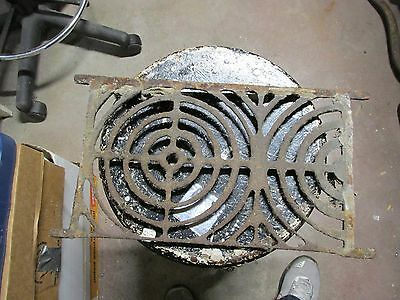 Vintage Cast Metal Foundation Vent