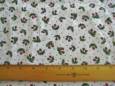 Mary Engelbreit Cherry Toss Cherries fabric cotton  quilting sewing by the yard