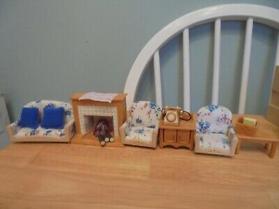 Sylvanian Families Living Room furniture set (set 2)