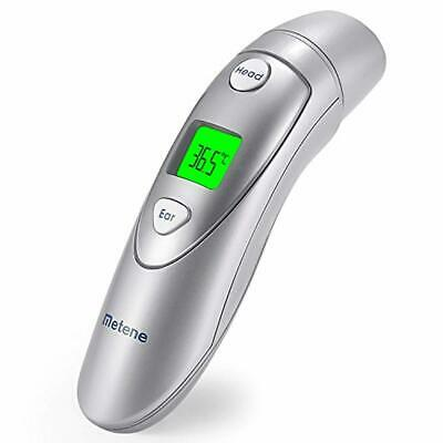 Metene Medical Forehead and Ear Thermometer,Infrared Digital Thermometer Suitabl