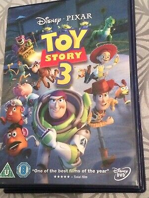 Disney's - Toy Story 3 (DVD, 2010) Freepost.