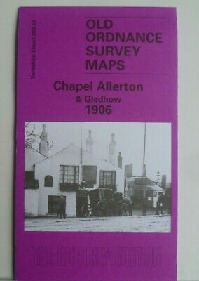 Old Ordnance Survey Maps Chapel Allerton Gledhow Yorkshire 1906 Godfrey Edition