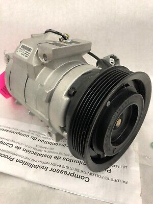 A//C Compressor for 2001-03 Acura CL 1999-03 Acura TL 2001-02 Honda Accord 77383