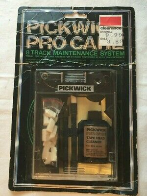 Pickwick Pro Care Cassette Maintenance System - Vintage 80s - NOS New Original