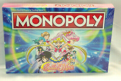 Sailor Moon Monopoly Board Game Sealed/New