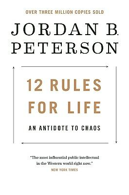 12 Rules For Life An Antidote to Chaos byJordan Peterson Brand New Hardcover