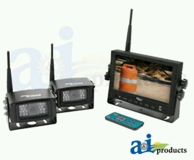 "CabCAM Wireless Video System (Includes 7"" Monitor and 2 Cameras)"