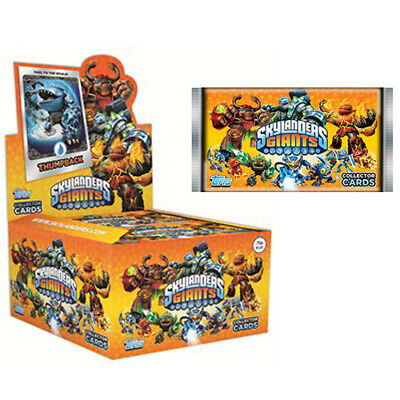 NEW! Topps Skylanders Giants Trading Card 5x Packs with 30x Cards