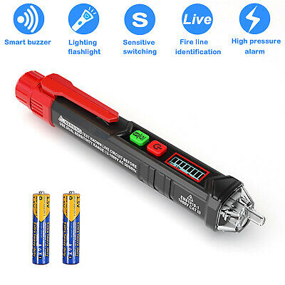 Voltage Tester, Dual Non Contact AC Voltage Detector for Range 12/48V-1000V