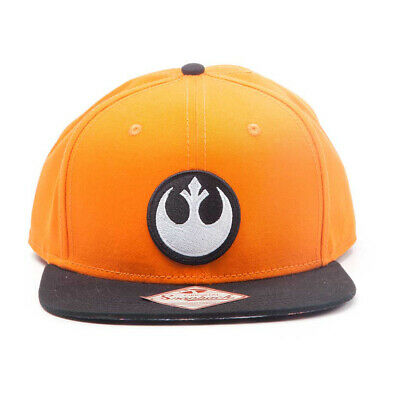 NEW! Star Wars Unisex Resistance Logo Embroidered Patch Snapback Baseball Cap