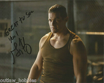 Greg Finley The Flash Autographed Signed 8x10 Photo COA  B