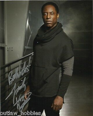 Isaiah Washington The 100 Autographed Signed 8x10 Photo COA