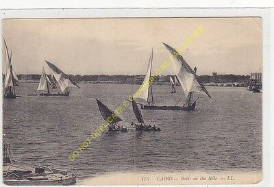 CPA EGYPTE CAIRO Boats on the Nile Edit LL