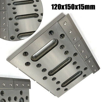 120x150x15mm Wire EDM Fixture Board Jig Tool Fit For Clamping Leveling Stainless