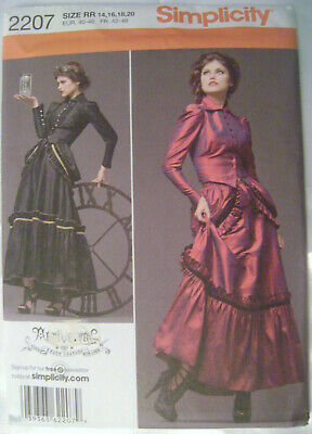 simplicity 1732 oop gothic steampunk victorian coat