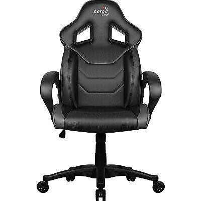 NEW! Aerocool Ac60c Air Black Gaming Chair With Air Technology & Unique Carbon F