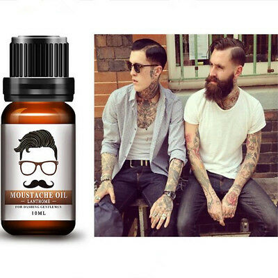 Beard Thicker Growth Oil Men-Grooms Beard Mustache Boosts Growth & Conditioning
