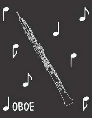 Oboe Composition Notebook by LM Efird 9781097113514 | Brand New