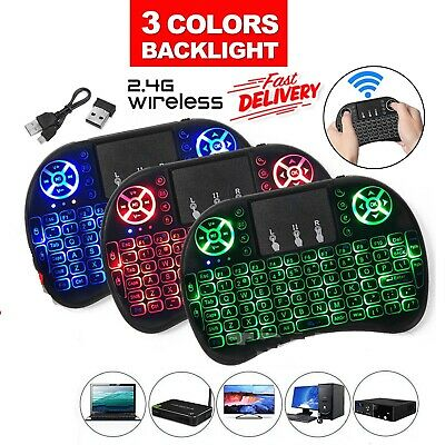 2.4Ghz Wireless Bluetooth Touchpad Remote Keyboard Mouse Mice For PC,Laptop,PS3