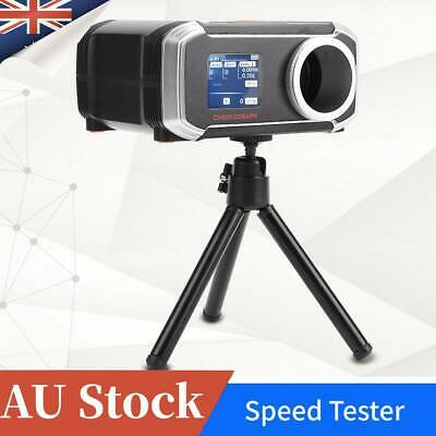 AU High Precision Paintball BB Airsoft Shooting Measure Chronograph Speed Tester