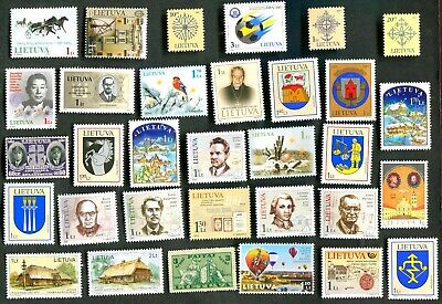 Perfect, Mint Never Hinged, stamps of Lithuania