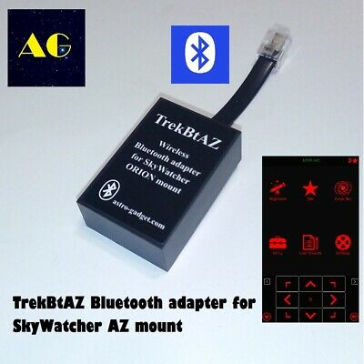 TrekBtAZ - Bluetooth adapter for direct control of AZ mounts SkyWatcher, ORION