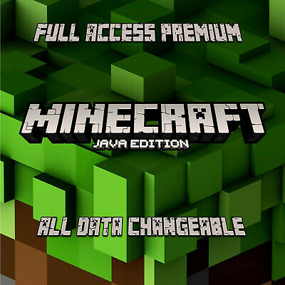 ✅Minecraft Premium Account: Java Edition ✅FULL ACCESS✅INSTANT DELIVERY ✅WARRANTY